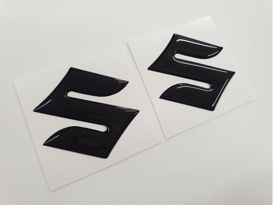 Picture of Suzuki Fuel Tank Gel Badges 50mm