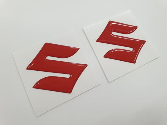 Picture of Suzuki Fuel Tank Gel Badges 50mm