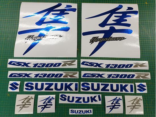 Picture of Suzuki  Hayabusa GSX 1300R  1999 - 2007 replacement Decals / Stickers