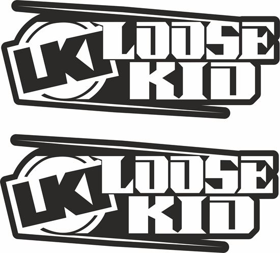 """Picture of """"Loose Kids""""Decals / Stickers"""