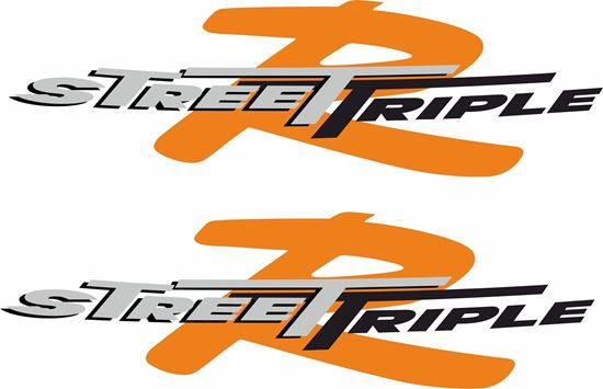 "Picture of Triumph ""Street Triple R""  Decals / Stickers"