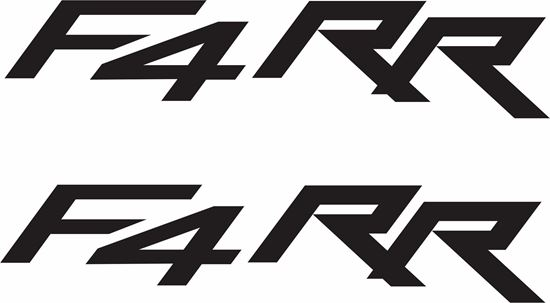 Picture of MV Agusta F4 RR Decals / Stickers
