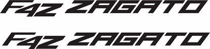 Picture of MV Agusta F4Z Zagato Decals / Stickers