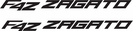 Picture of MV Agusta F4Z Zagato Decals / Stickers