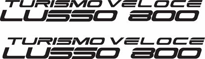 Picture of MV Agusta Turismo Veloce Lusso 800  Decals / Stickers