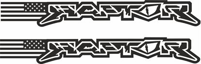 Picture of Ford Raptor Decals / Stickers