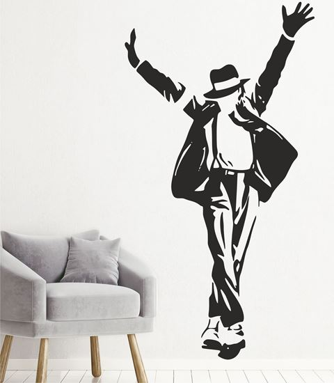 """Picture of """"Micheal Jackson""""  Wall Art sticker"""
