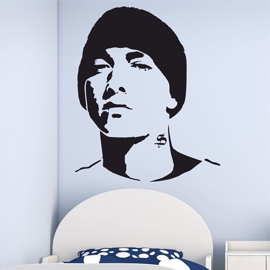 """Picture of """"Eminem""""  Wall Art sticker"""