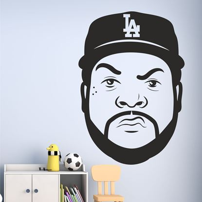 "Picture of ""Ice Cube""  Wall Art sticker"