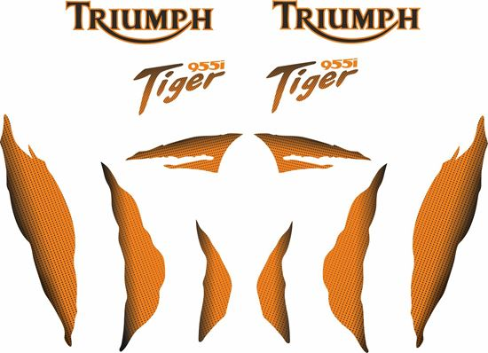 Picture of Triumph Tiger 955i Decals / Stickers