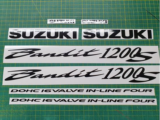 Picture of Suzuki Bandit GSF 1200S Decals / Stickers Single Colour