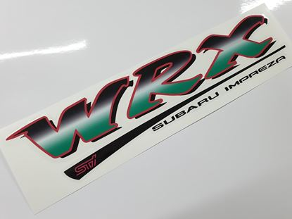 Picture of Subaru Impreza STi rear Hatch Decal / Sticker