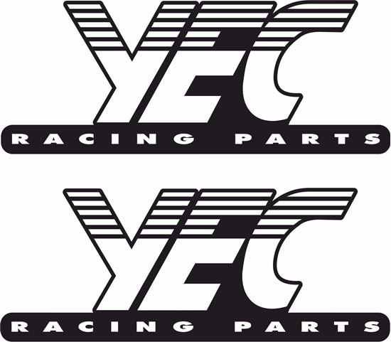 Picture of Yec Racing Parts Decals / Stickers