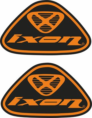 "Picture of ""Ixon""  Track and street race sponsor Decals / Stickers"