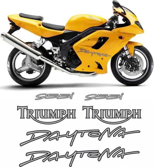 Picture of Triumph Daytona 955i 2005 replacement Decals / Stickers