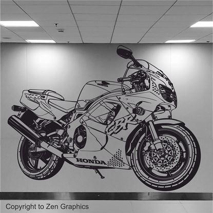 Picture of Honda CBR Fireblade 900RR  Wall Art sticker