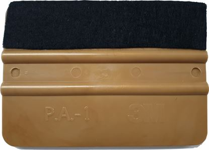 Picture of 3M Gold PA-1 Professional ultra soft Felt edge application Squeegee