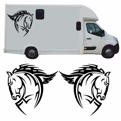 Picture of Horsebox side panel Decals / Stickers