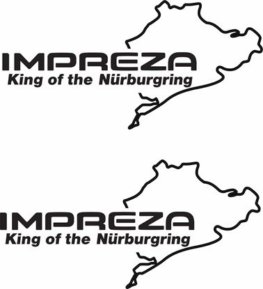 Picture of Impreza Nurburgring Decals / Stickers