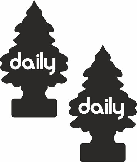 """Picture of """"Daily"""" Decals / Stickers"""