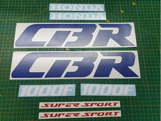 Picture of Honda CBR 1000F Super Sport replacement Decals / Stickers