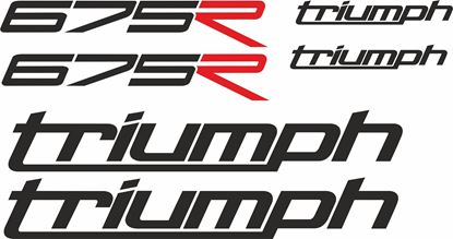 Picture of Triumph Daytona 675R  Decals / Stickers kit