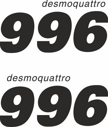 Picture of Ducati 996 desmoquattro Decals / Stickers
