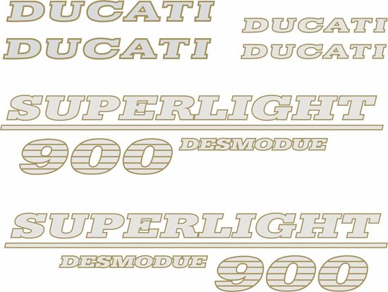 Picture of DUCATI 900 Super Sport  replacement Decals / Stickers
