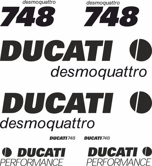 Picture of Ducati 748 desmoquattro Decals / Stickers kit