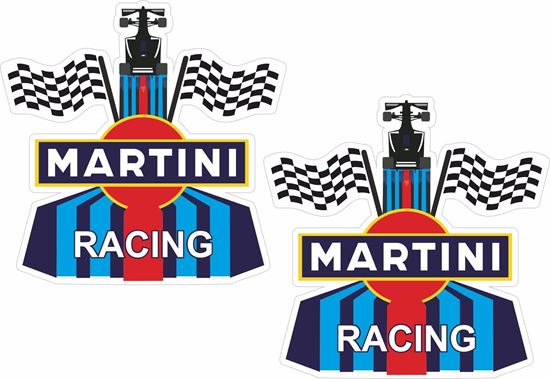 Picture of Martini Racing general panel Decals / Stickers