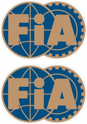 Picture of FiA Decals / Stickers