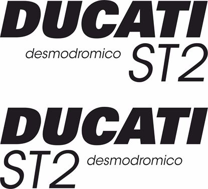 Picture of Ducati  ST2 replacement Decals / Stickers