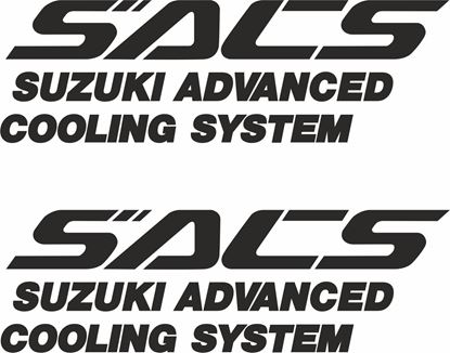 Picture of Suzuki SACS replacement Decals / Stickers