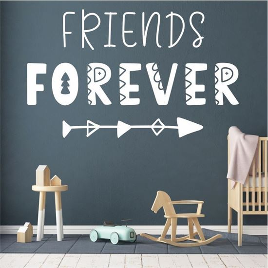 """Picture of """"Friends forever"""" Wall Art sticker"""