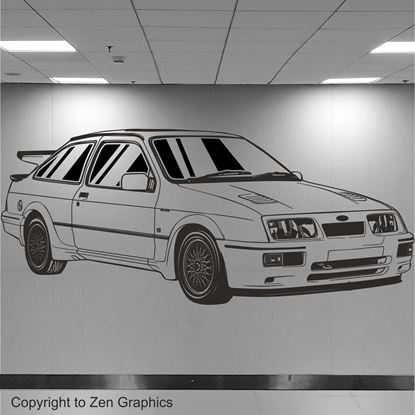 Picture of Ford Sierra RS500 Wall Art sticker
