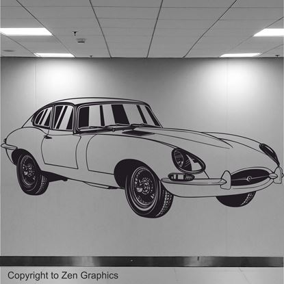 Picture of Jaguar E-Type Wall Art sticker