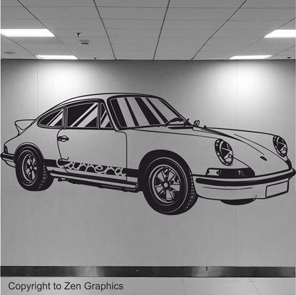 Picture of Porsche 911 RS Wall Art sticker