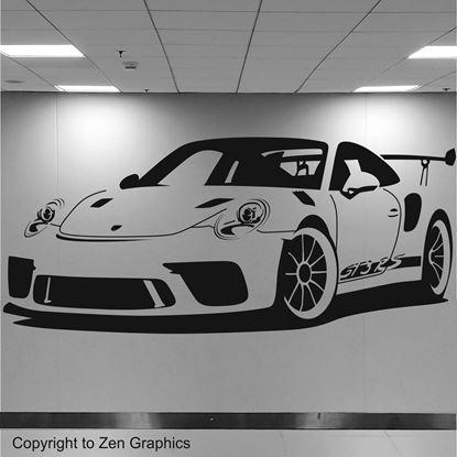 Picture of Porsche 911 GT3 RS Wall Art sticker