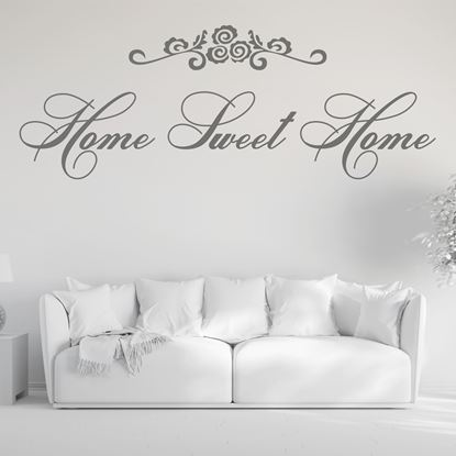 "Picture of ""Home sweet home""  Wall Art sticker"
