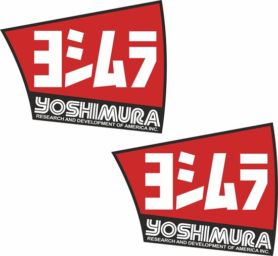 Picture of Yoshimura Track and street race sponsor Decals / Stickers