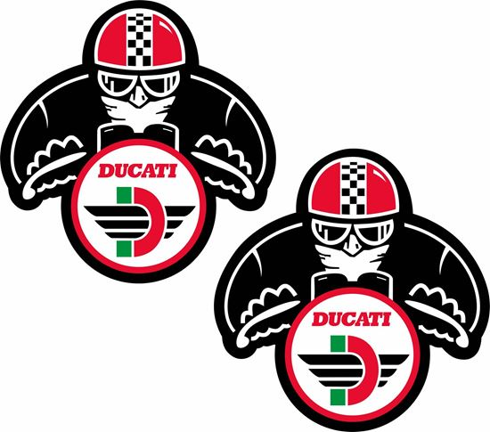 Picture of Ducati Classic Racing Decals / Stickers