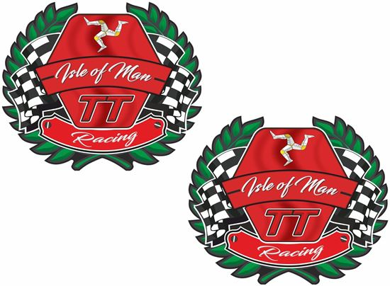 Picture of Isle of Man TT Decals / Sticker