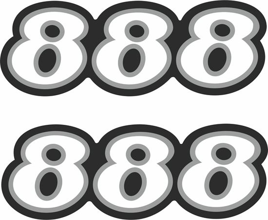 Picture of Ducati 888 SP4  replacement side Decals / Stickers