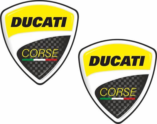 Picture of Ducati Corse Shield Decals / Stickers