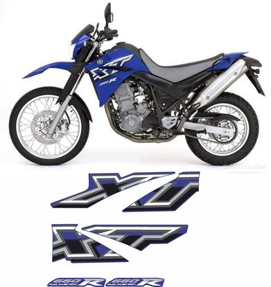 Picture of Yamaha XT660R 2007 Replacement Decals / Stickers