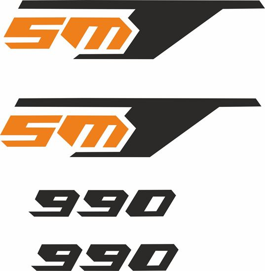 Picture of KTM SMT 990 replacement Decals / Stickers
