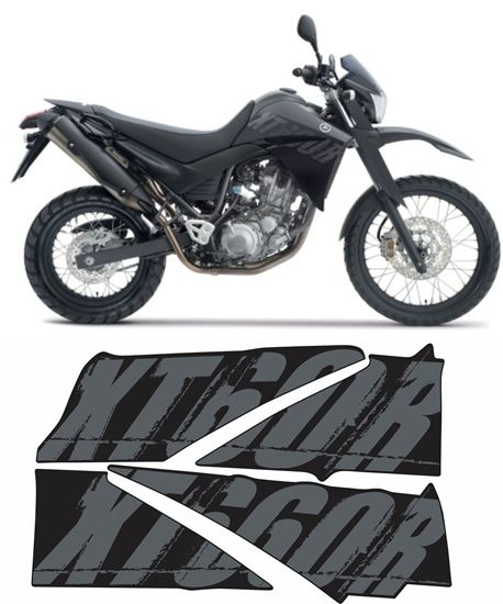Picture of Yamaha XT660R 2008 replacement Decals / Stickers