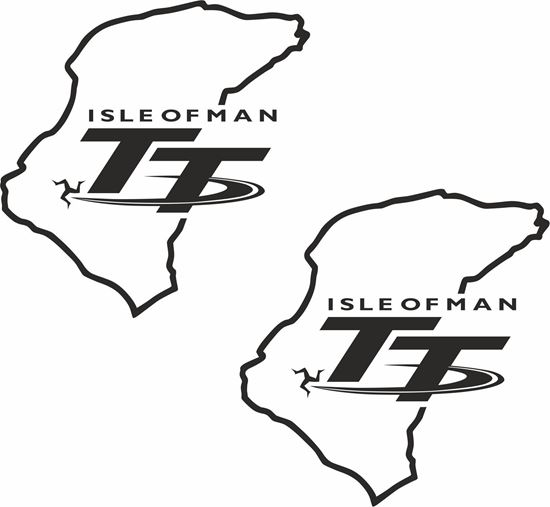 "Picture of ""Isle of Man TT"" Decals / Stickers"