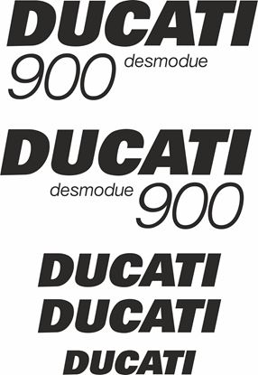 Picture of Ducati  900 Desmodue replacement Decals / Stickers