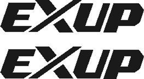 Picture of EXUP decal - compatible with Yamaha YZF R1 1998-2001